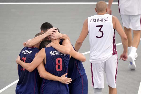 Basketaši u poslednjoj sekundi do zlata